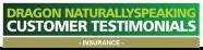 insurance client testimonial
